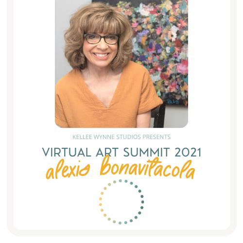 Alexis Bonavitacola Virtual Art Summit 2021