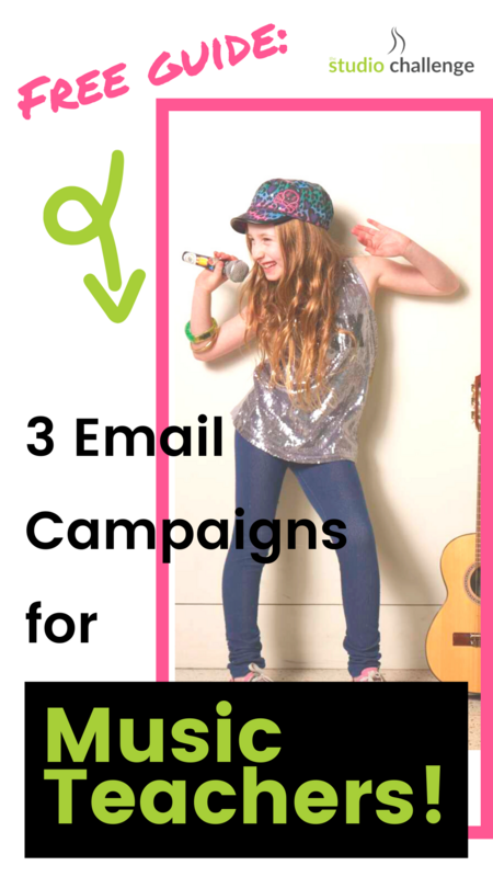3 Email Campaigns for Music Teachers