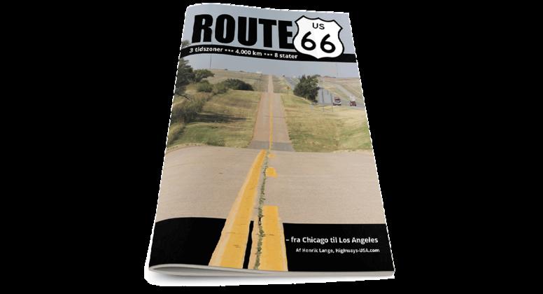 Route 66 fra Chicago til Los Angeles - stat for stat