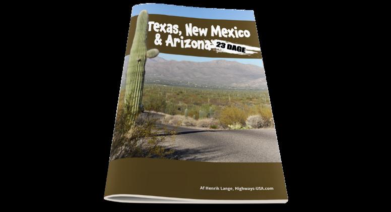 Texas, New Mexico, Arizona & Nevada på 23 dage