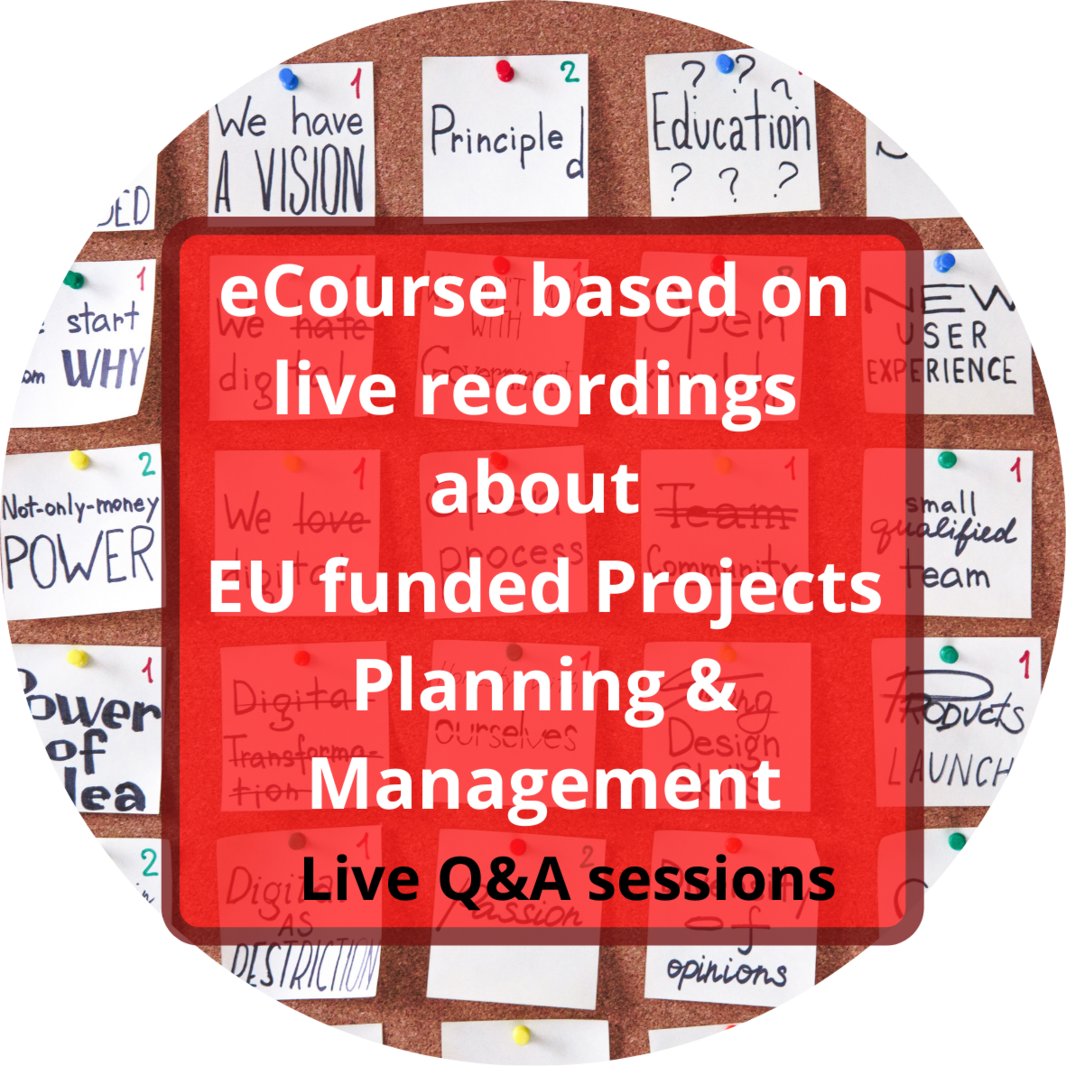 Planning and  Management of EU funded projects