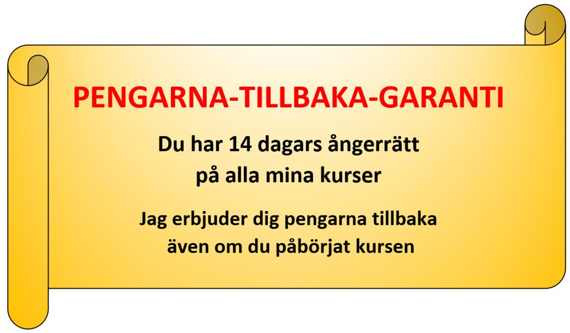 Garanti ångerrätt 8