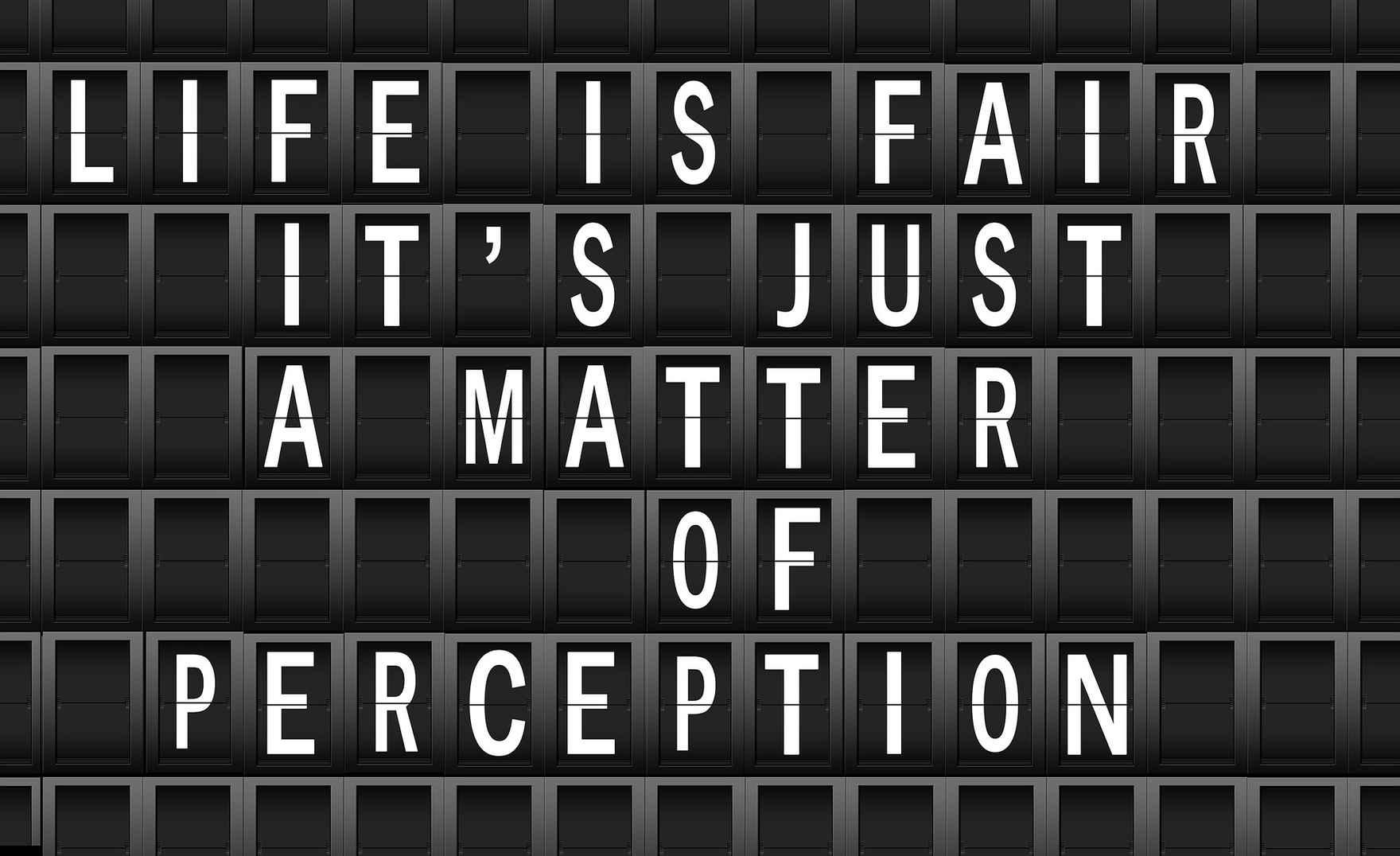 2021.06.24 Life is Fair