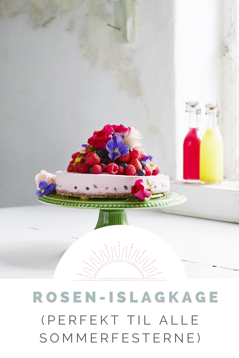 Opskrifter til bloggen - Rosen-islagkage