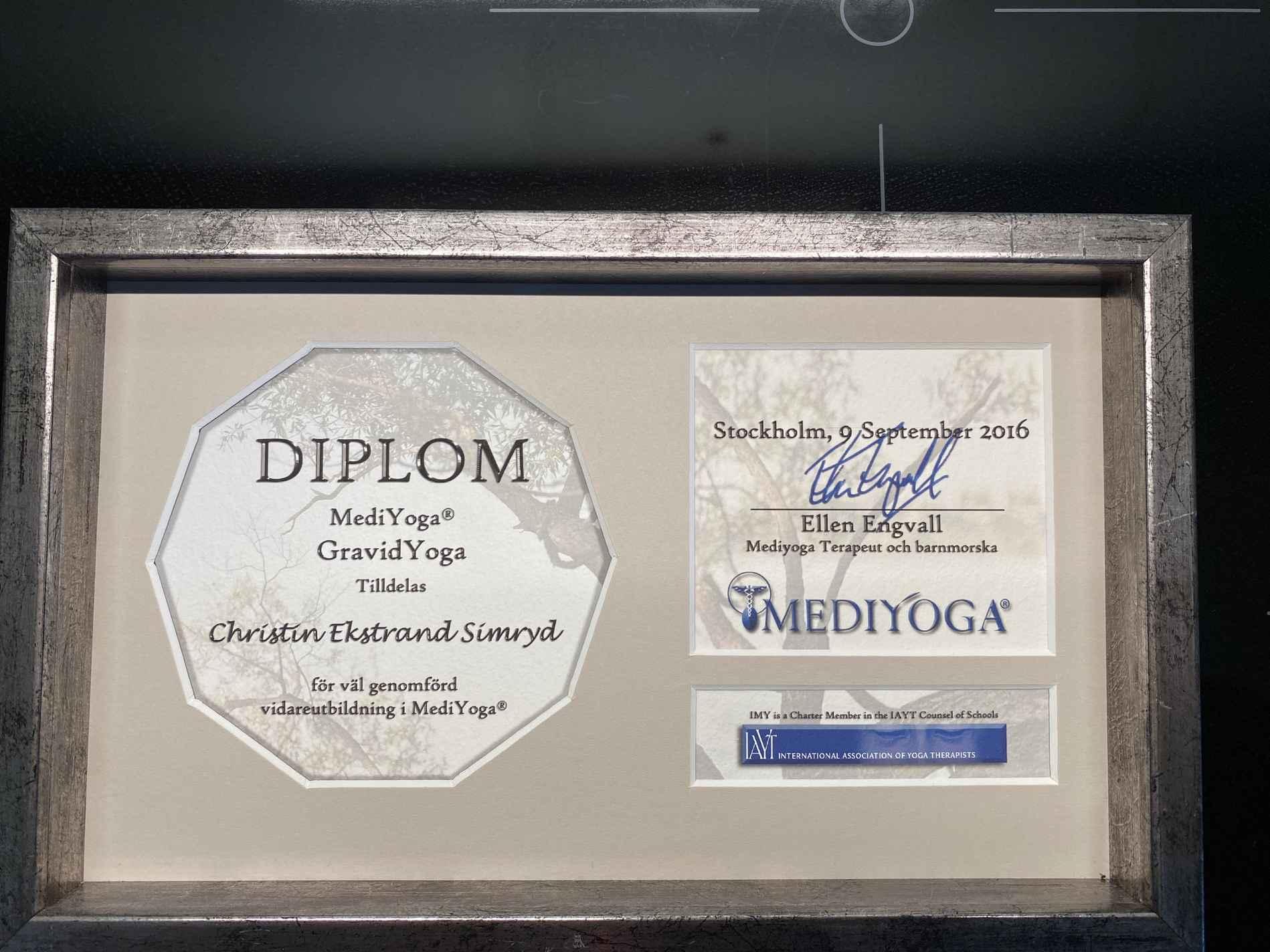 Diplom Gravidyoga