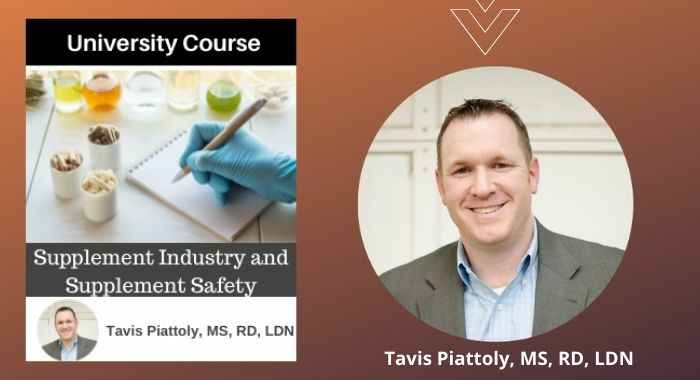 Supplement Industry and Supplement Safety