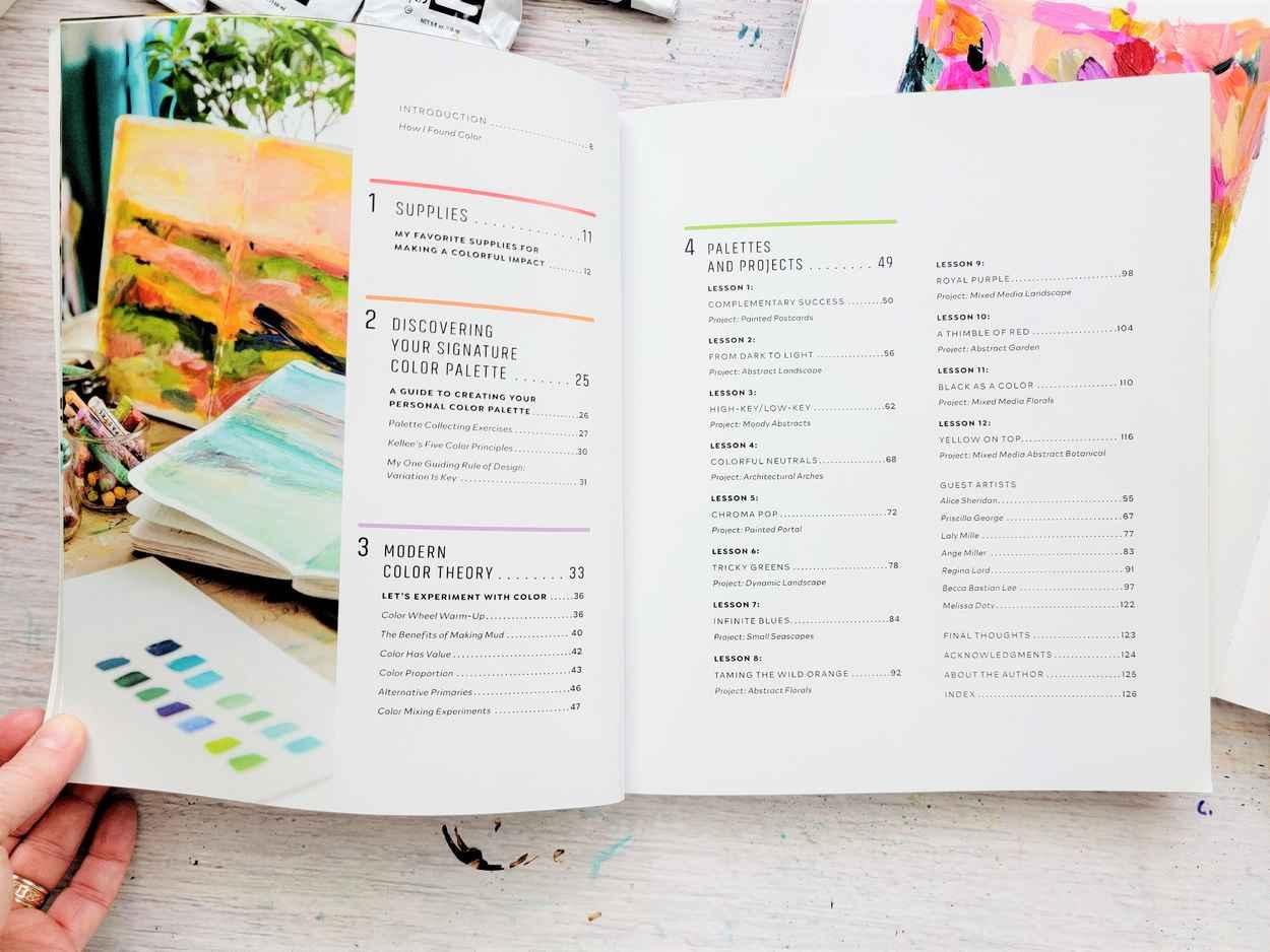 Mixed Media Color Studio by Kellee Wynne Conrad book (5)