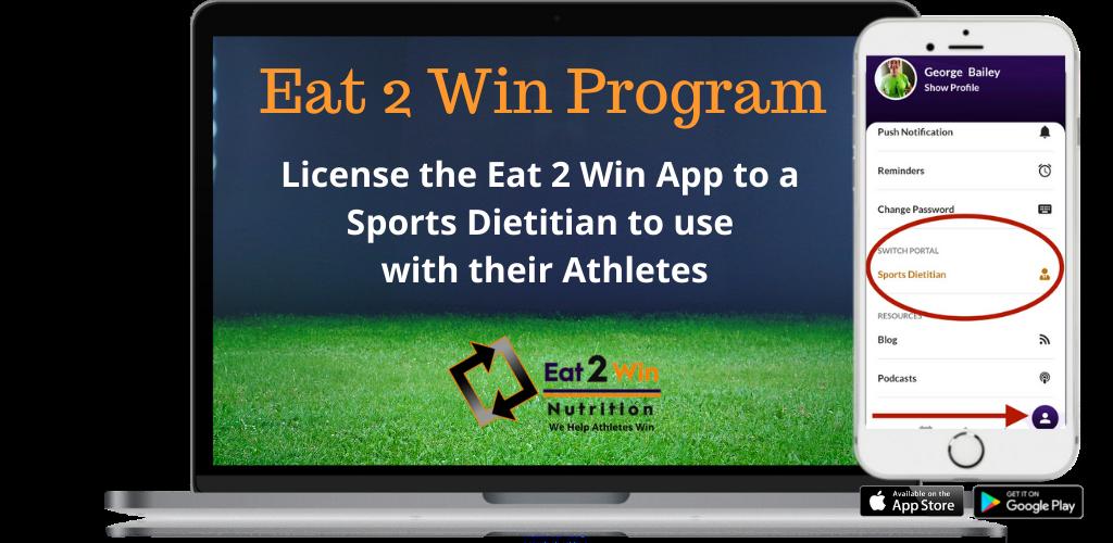 Eat 2 Win App License