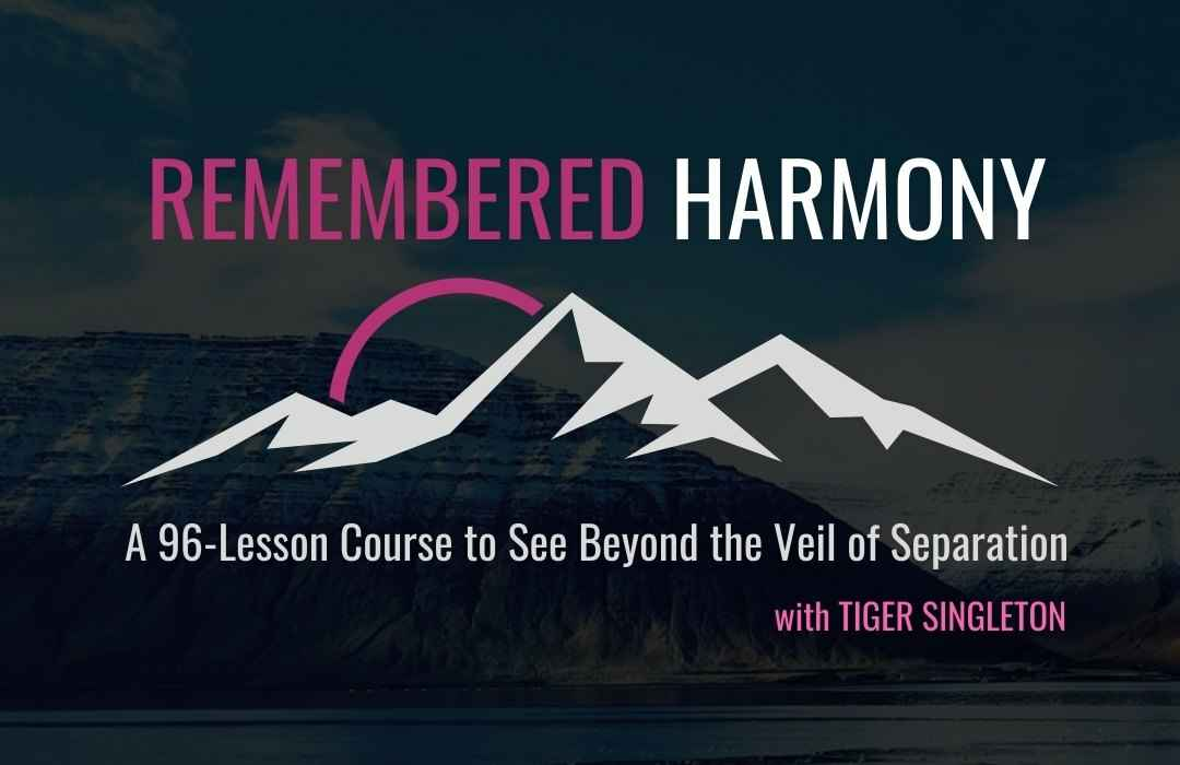 REMEMBERED Harmony Course