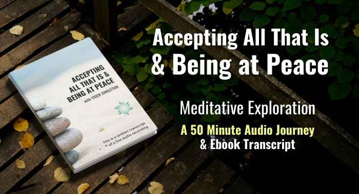 Accepting All That Is & Being at Peace product cover