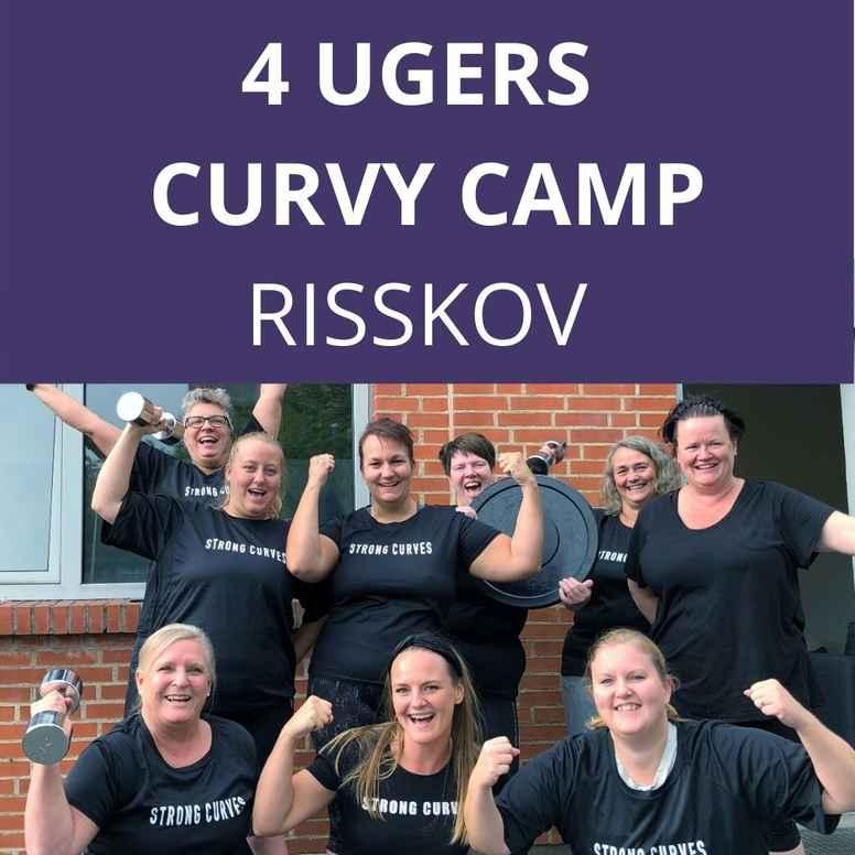 CURVY CAMP UGE 34-37: Mandag og onsdag kl. 18.00-19.00 i Risskov💪🏻