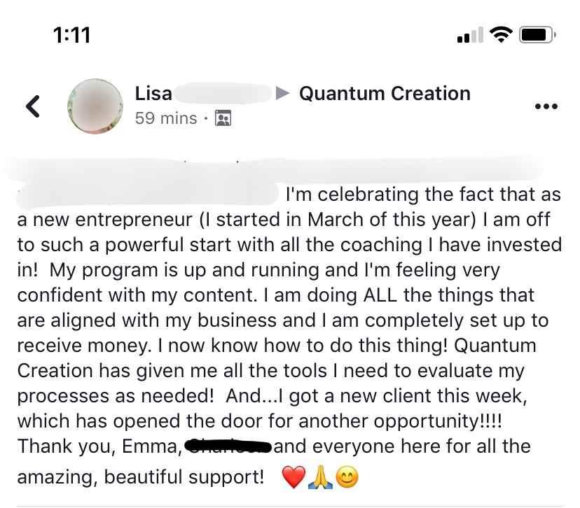 Lisa.QC_Testimonial