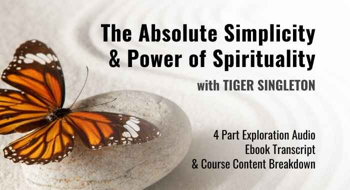 TASPS - The Absolute Simplicity & Power of Spirituality - Course Cover