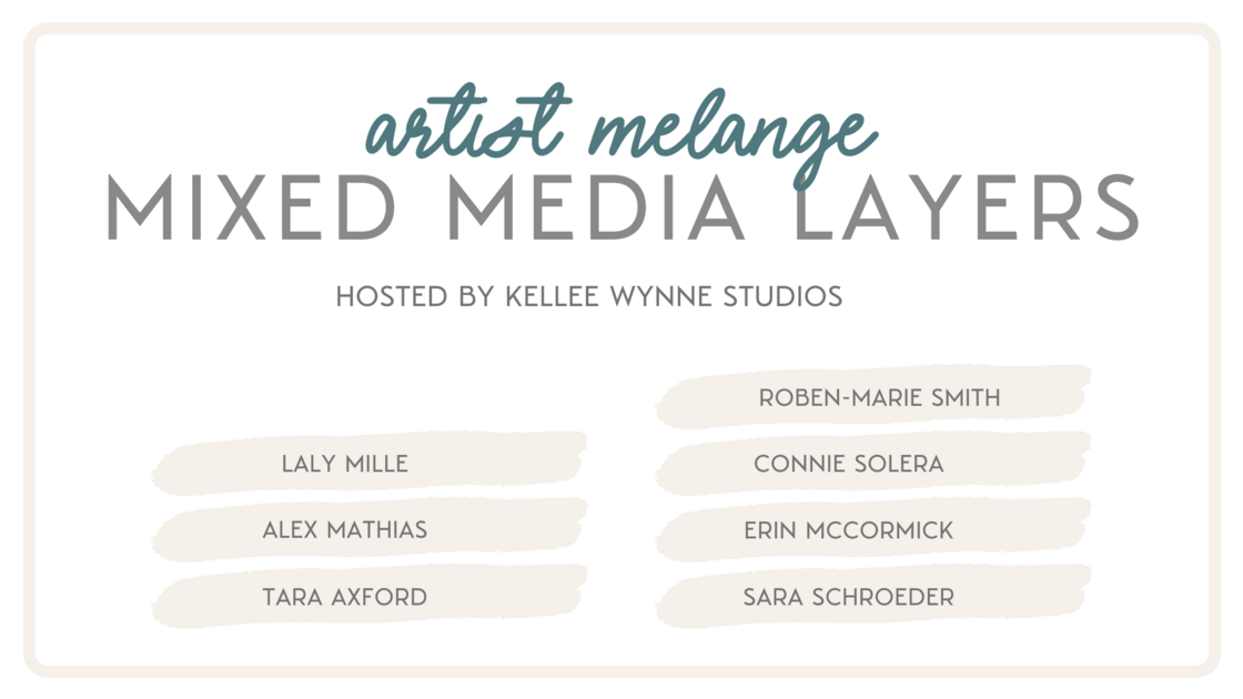 Artist Melange Mixed Media Layers