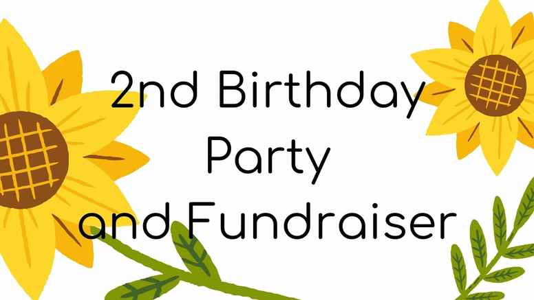 2nd Birthday Party and Fundraiser