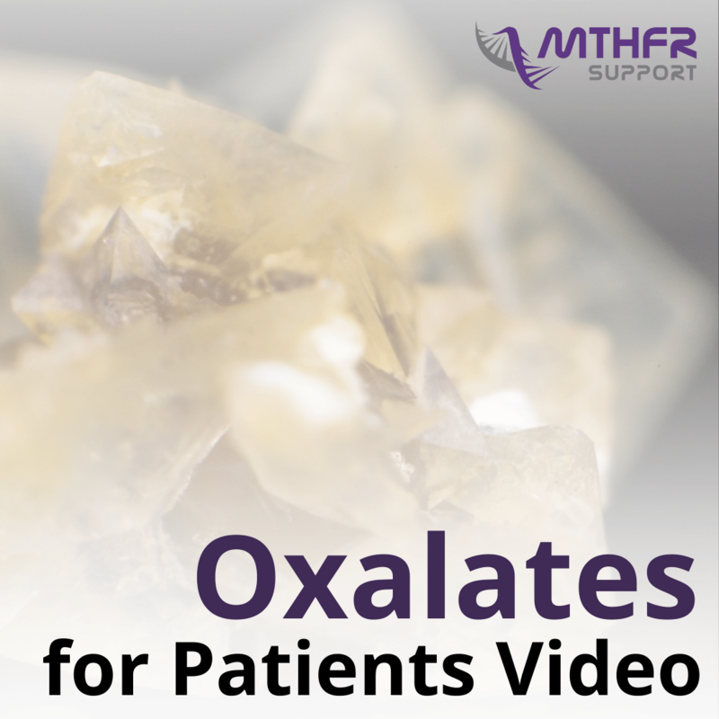Oxalates for Patients Video
