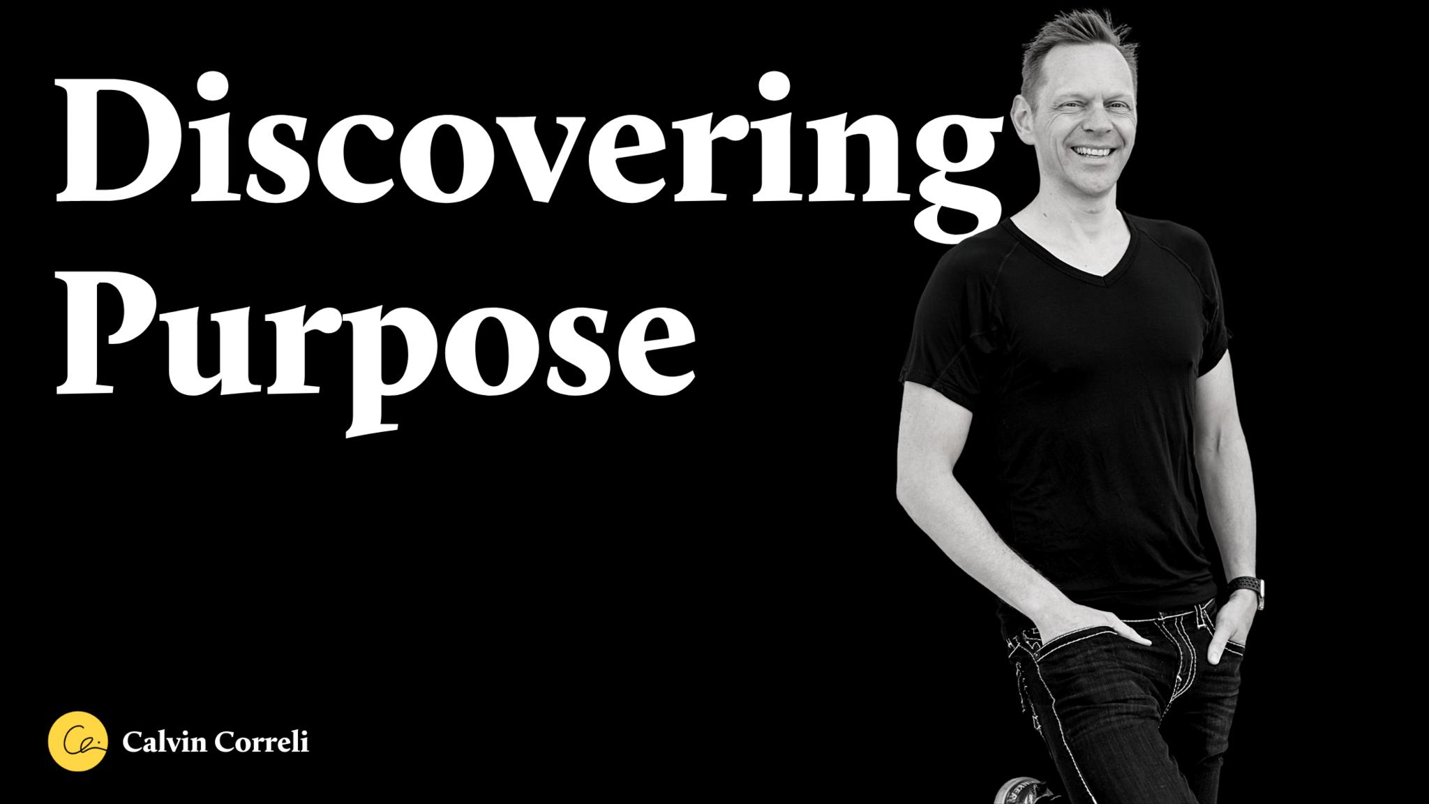 Purpose Blog