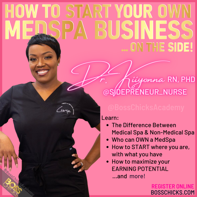 How To Start Your Own MedSpa Business On The Side