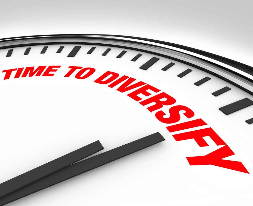 Time to Diversify Clock
