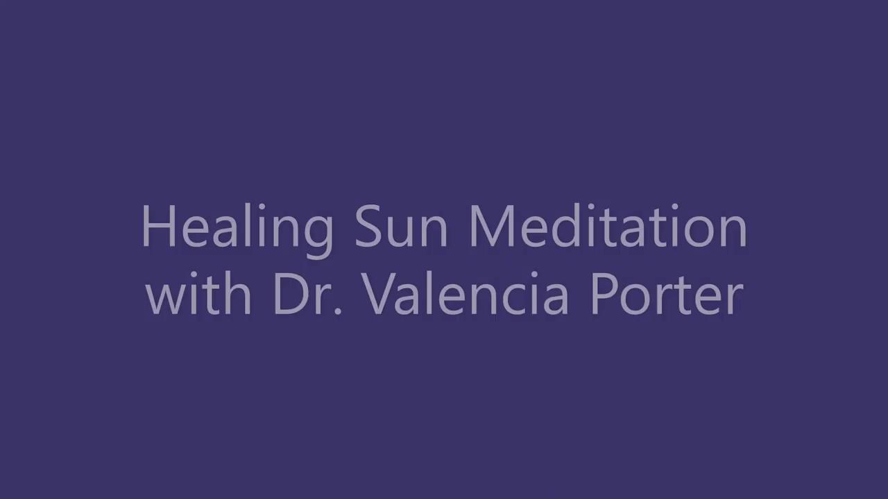 Healing Sun Meditation