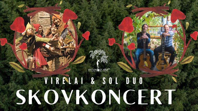 Skovkoncert med Virelai og Sol Duo