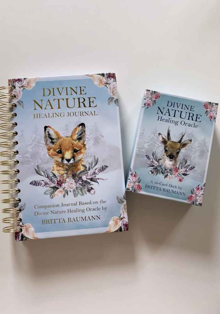 Divine Nature Healing Oracle + Journal