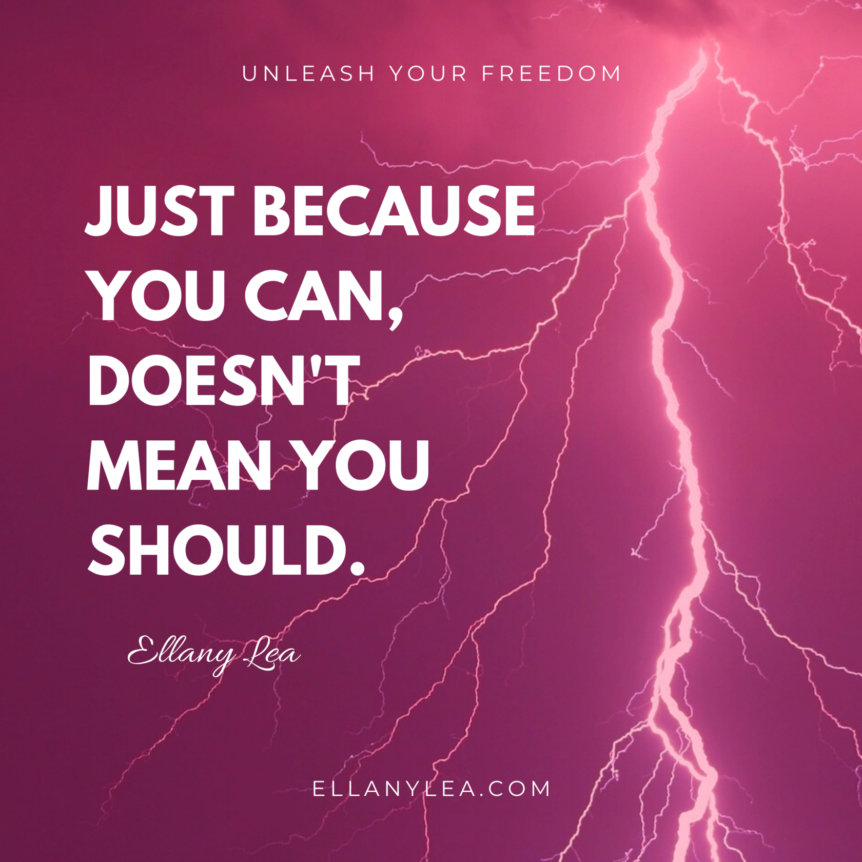 quotes - just because you can