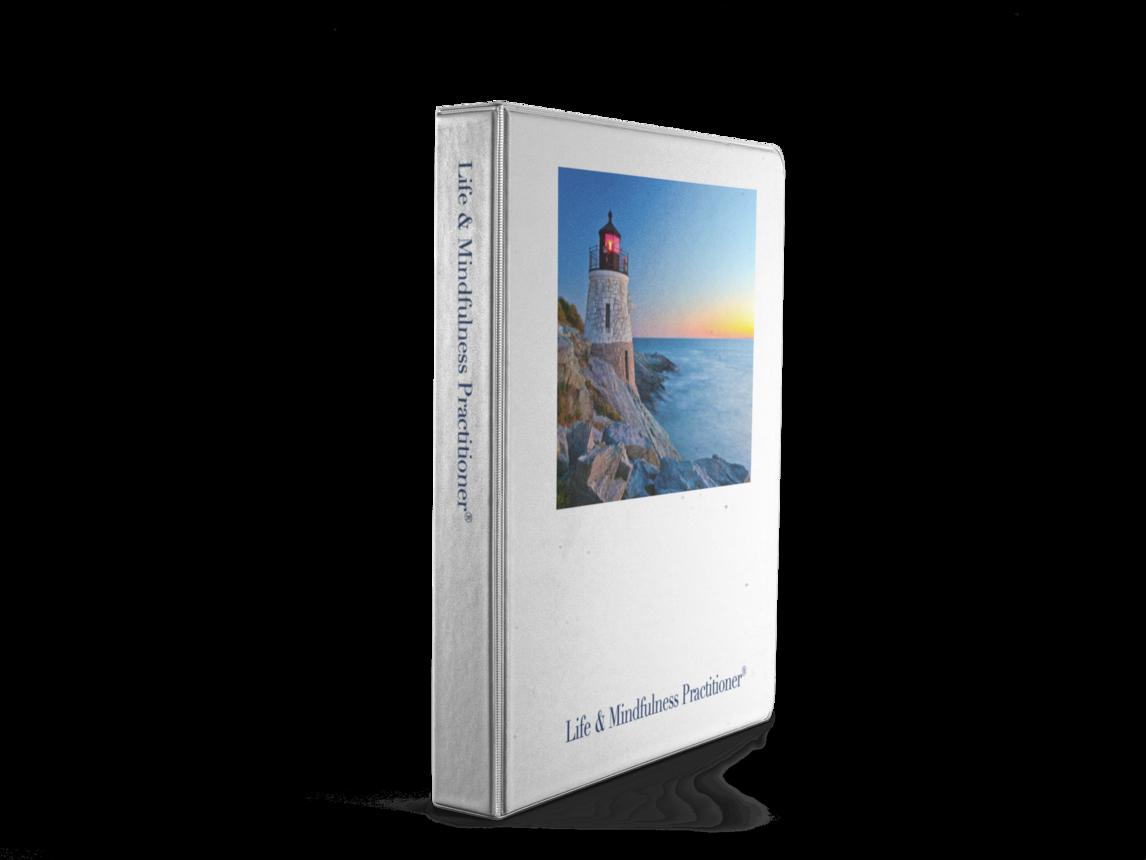 Life Mindfulness Practitioner Ringbind stående