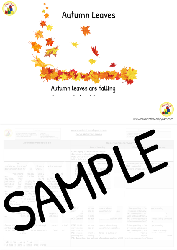 Autumn Leaves sample image (2)