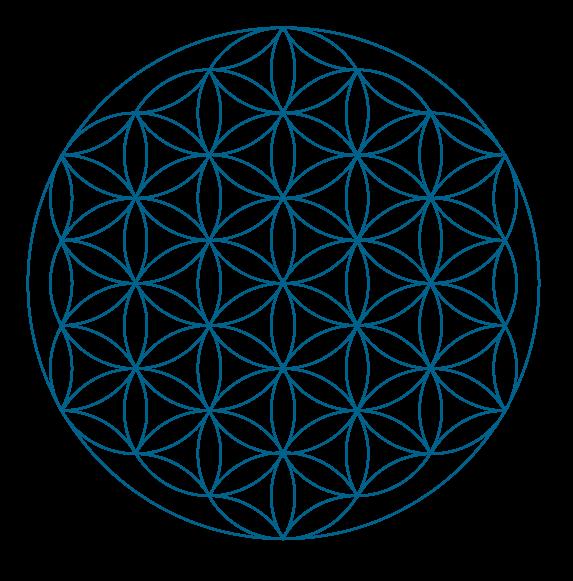 Grids_blaa_flower
