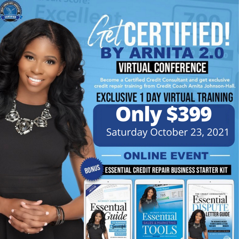 Get Certified by Arnita October 23, 2021