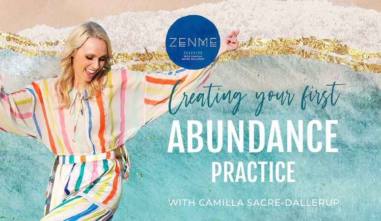 Creating Your First Abundance Practice