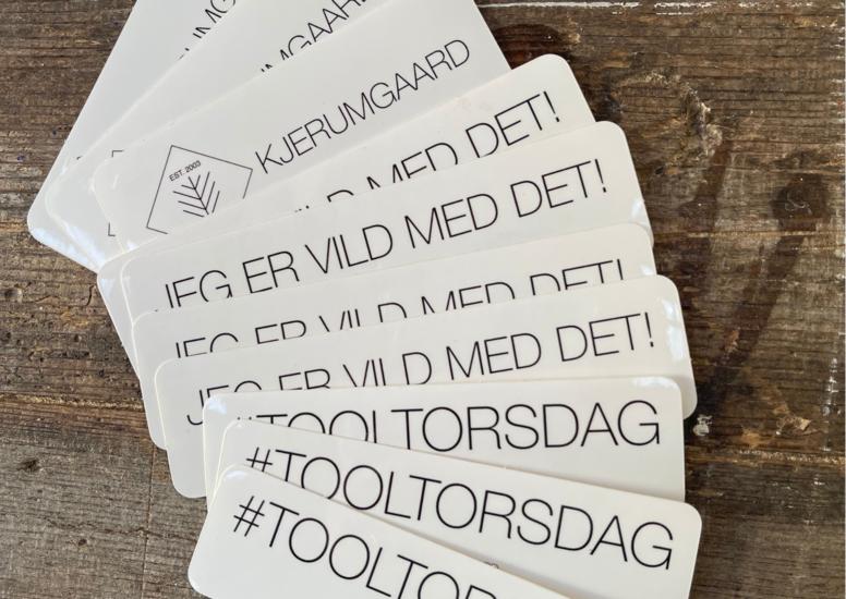 Stickers 10 stk.