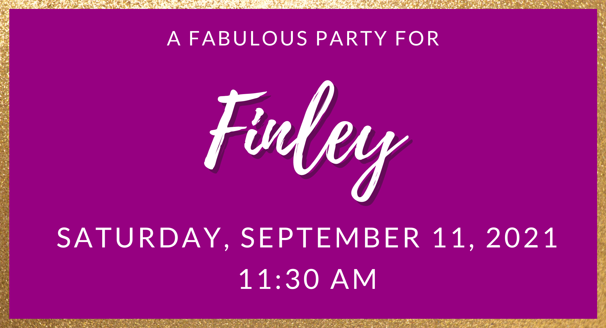 A Fabulous Party For