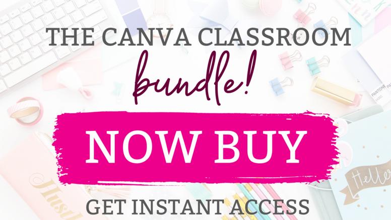 The Canva Classroom Bundle