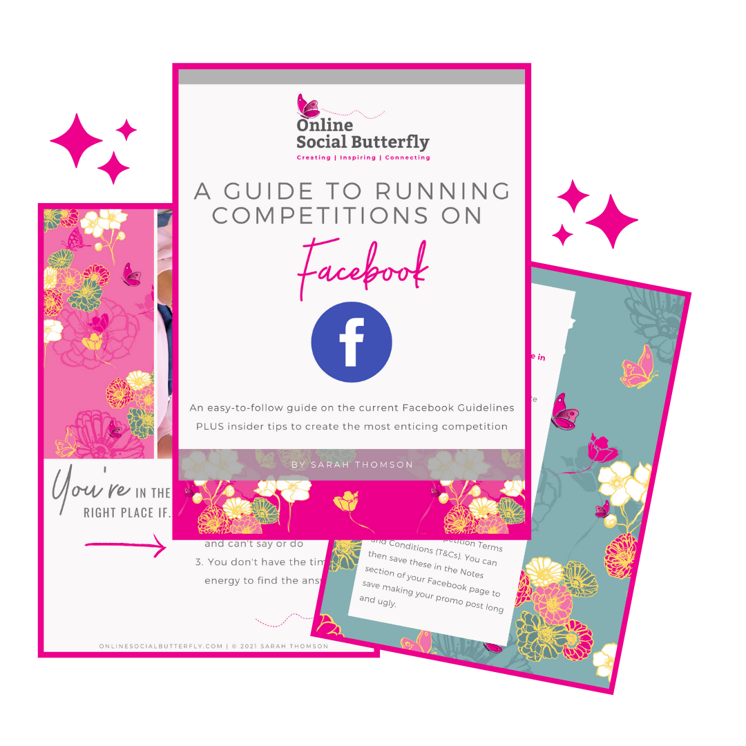 Facebook Competitions Landing Page Image