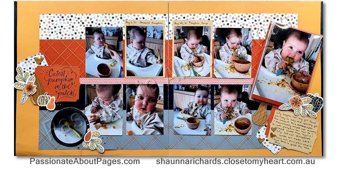 Pumpkin Spice Layout 1