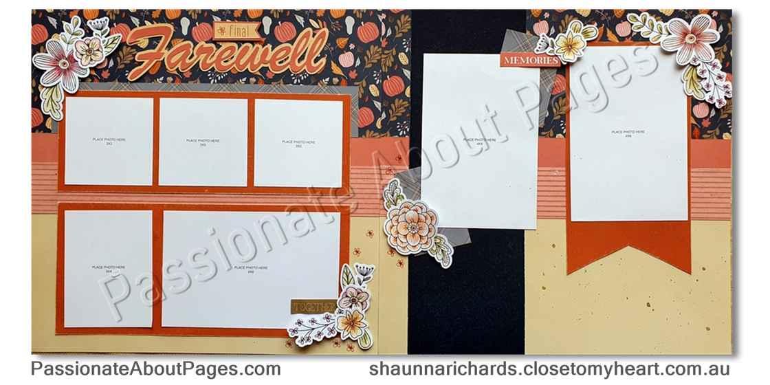 Pumpkin Spice Layout - Page 006