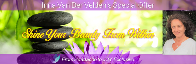 S21: Inna Van Der Velden (A) Shine Your Beauty From Within