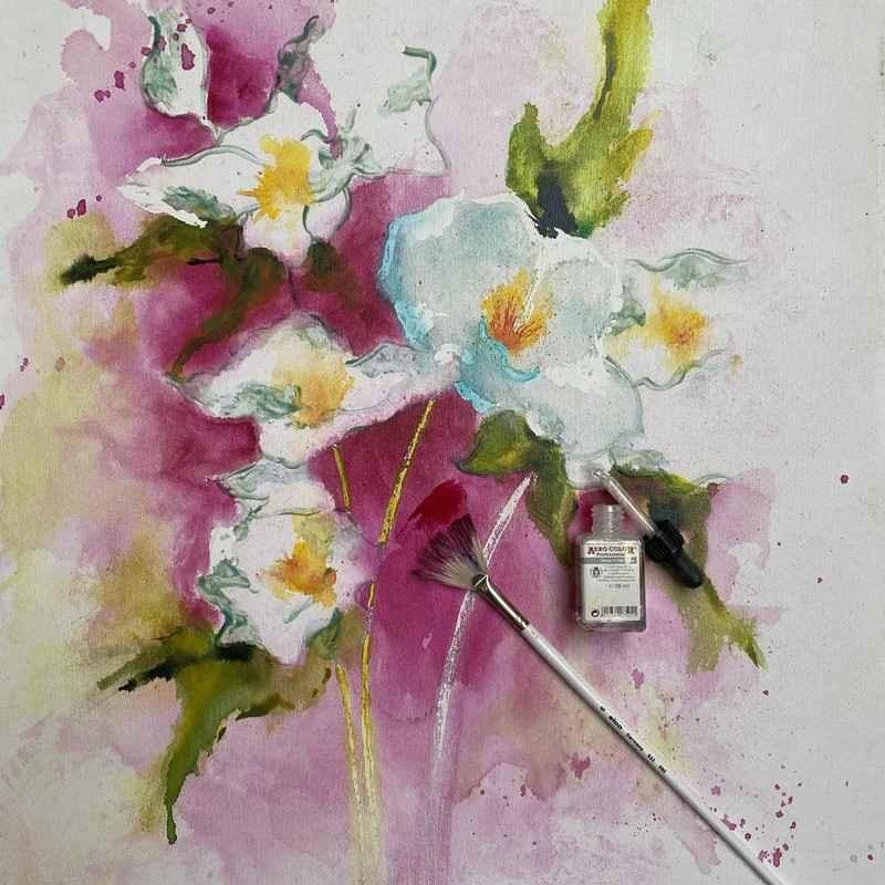 Forårs fornemmelser med pensel - 800x800