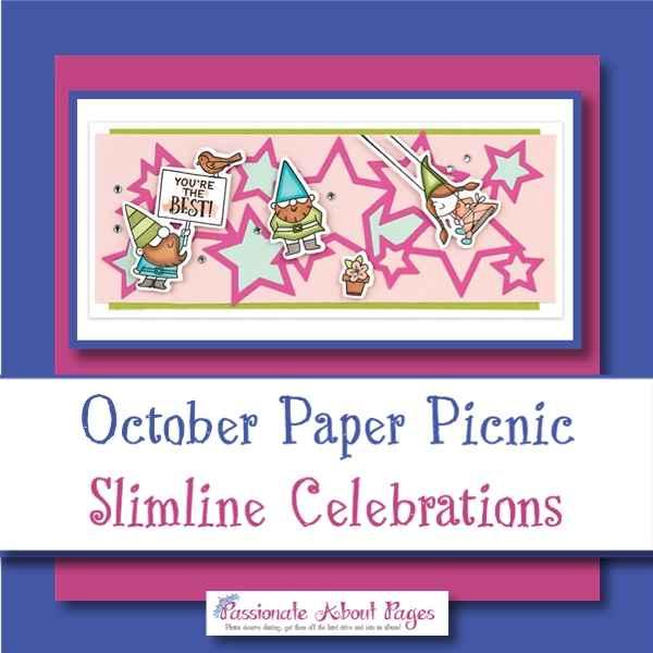 Slimline Celebrations Paper Picnic