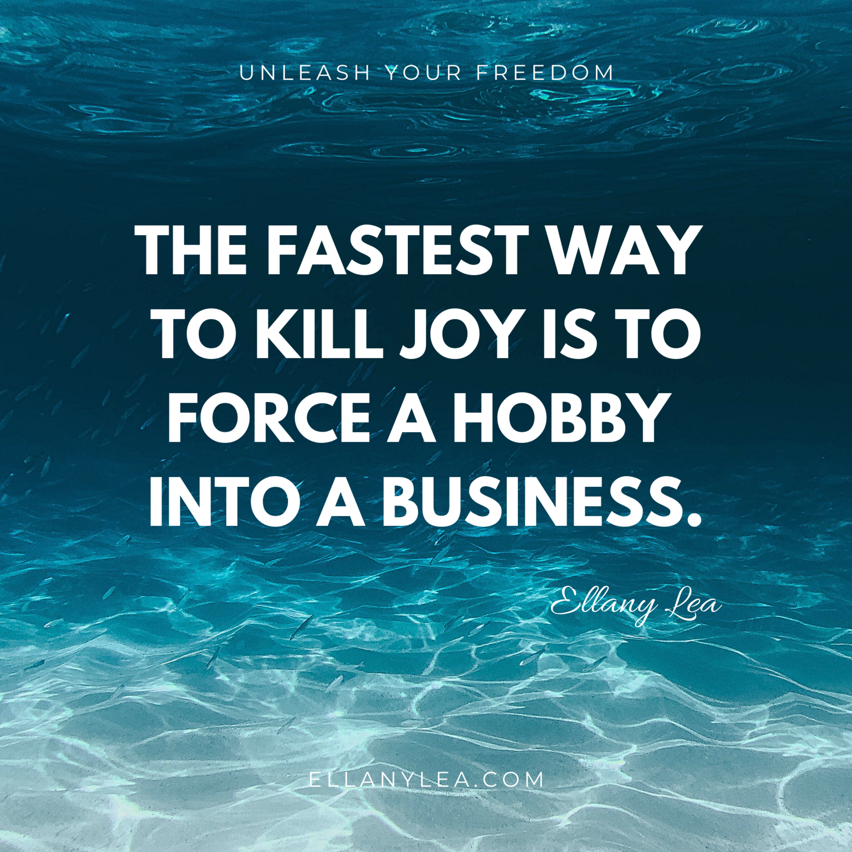 quote - the fastest way to kill