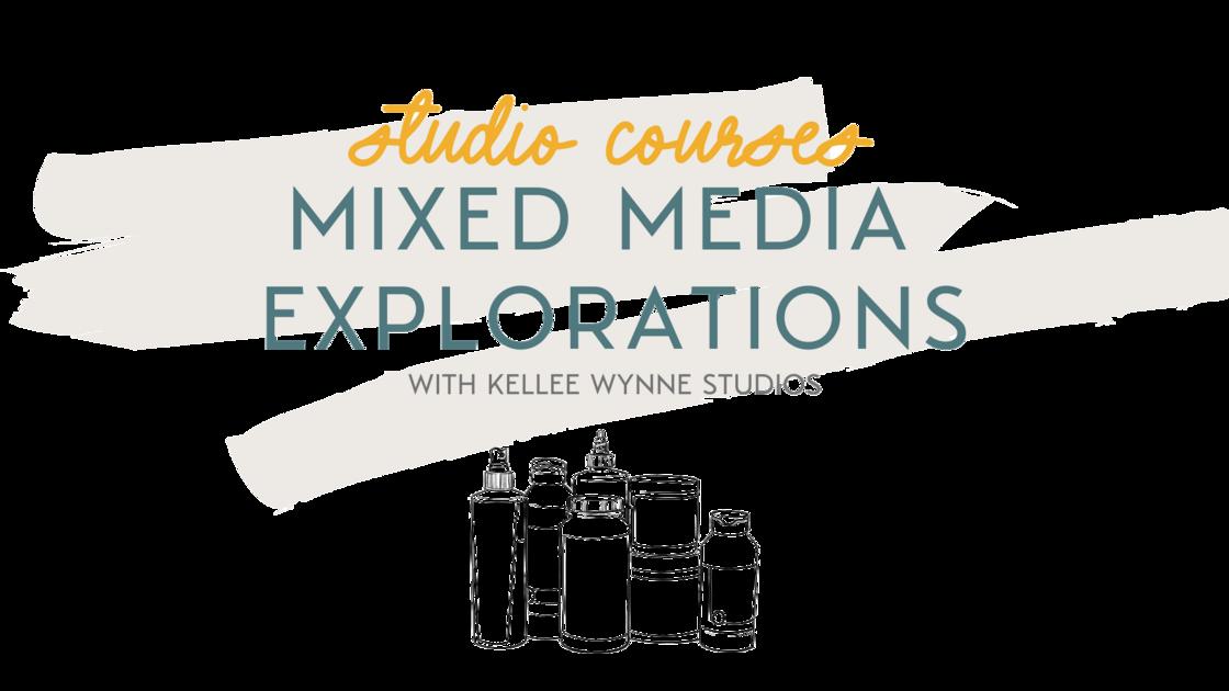 Mixed Media Explorations Title Card LOGO 2