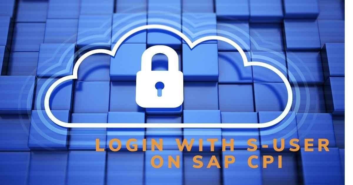 Authenticaiton for SAP CPI