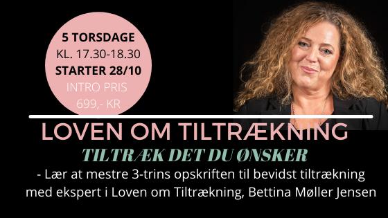 LÆR AT BRUGE LOVEN OM TILTRÆKNING - 5 UGERS PROGRAM