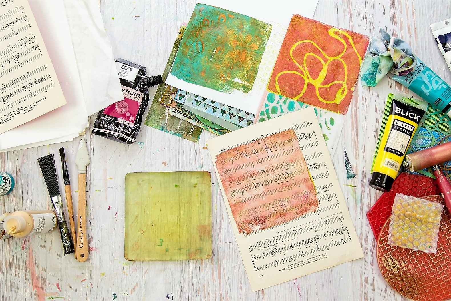 Kellee Wynne Studios Color Crush Creative Art Supplies Mixed media Explorations(190)