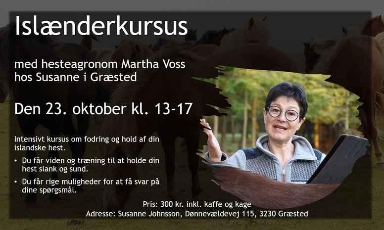 Islænderkursus - hos Susanne i Græsted