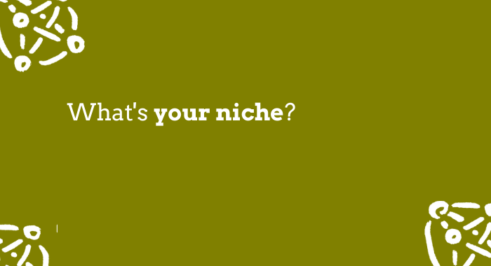 What's your niche