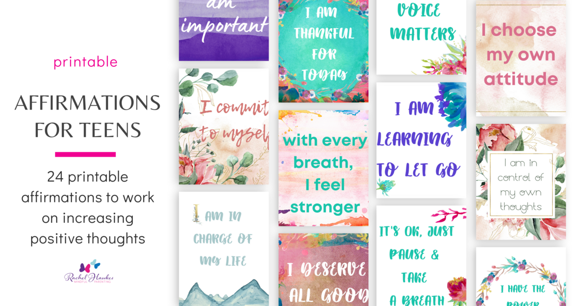 affirmations for teens image